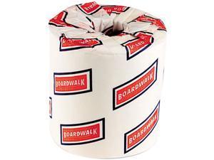 Boardwalk 6150 Bathroom Tissue, Two-Ply, White, 500 Sheets/Roll, 96 Rolls/Carton