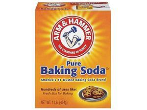 Arm & Hammer CDC 33200-84104 16oz Box Baking Soda
