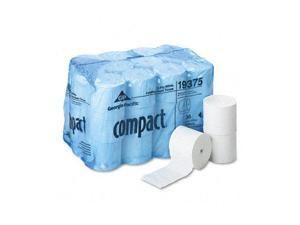 Georgia Pacific 19375 Compact Coreless Bath Tissue, 1000 Sheets/Roll, 36 Rolls/Carton