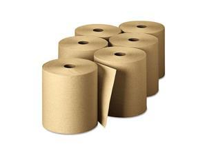 Georgia Pacific 26301 Envision High-Capacity Nonperforated Paper Towel Roll,7-7/8x800', Brown,6/Carton