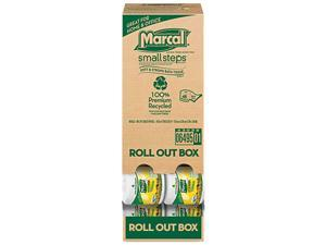 Marcal Small Steps 6495 100% Recycled Roll-out Convenience Pack Bathroom Tissue, 504 Sheets/Roll