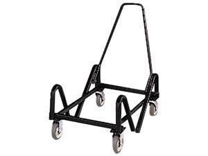 HON 4043T Olson Stacker Series Cart, 21-3/8 x 35-1/2 x 37, Black