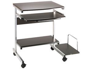 Mayline 946-ANT Eastwinds Portrait Mobile PC Workstation, 36½w x 19¼d x 31h, Anthracite