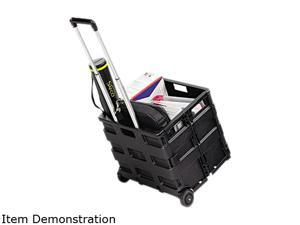 Safco 4054BL Stow And Go Crate Cart