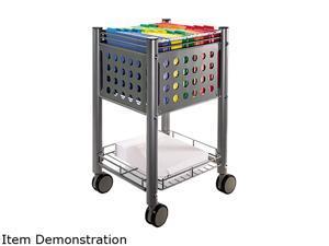 Vertiflex Sidekick File Cart, 1-Shelf, 13-3/4 x 15-1/2 x 26-1/4, Matte Gray