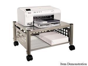Vertiflex Underdesk Machine Stand, 1-Shelf, 21-1/2 x 17-3/4 x 11-5/8, Matte Gray