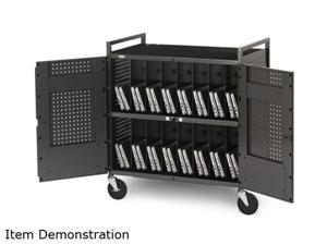 Bretford Basics NETBOOK32 Micro Computer Notebook Storage Cart