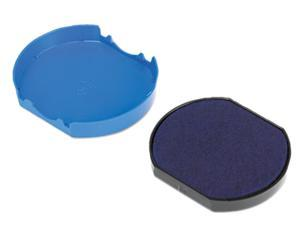 U. S. Stamp & Sign P46140BL Trodat T46140 Dater Replacement Pad, 1-5/8, Blue