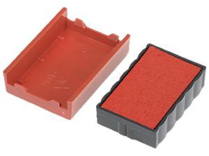 U. S. Stamp & Sign P4850RD Trodat T4850 Dater Replacement Pad, 3/16 x 1, Red
