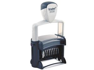 U. S. Stamp & Sign T5558 Professional Numberer, Self-Inking, Type Size 2, Eight Digits, Black