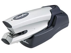 Swingline 48201 Cordless Rechargeable Stapler, 20-Sheet Capacity, Silver