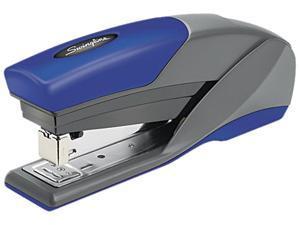 Swingline 66404 LightTouch Reduced Effort Stapler, 20-Sheet Capacity, Blue