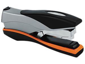 Swingline 87845 Optima Desk Stapler, 40-Sheet Capacity, Silver/Orange/Black