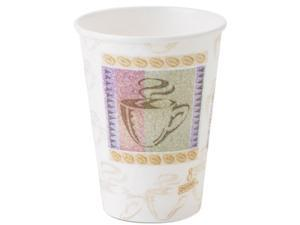 Dixie 5338CD Hot Cups, Paper, 8 oz., Coffee Dreams Design, 1000/Carton