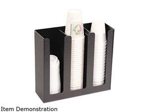 Vertiflex VFPC1000 Cup Holder, 12-3/4w x 4-1/2d x 11-3/4d, Black