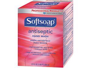 Softsoap 01926EA Antiseptic Unscented Liquid Refill, 800ml Box