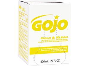 GOJO 9102-12CT Enriched Lotion Soap Bag-in-Box Dispen. Refill, Lightly Scented,800ml, 12/Carton