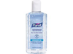 PURELL 9631EA Instant Hand Sanitizer w/Aloe, 4-oz Flip-Cap Bottle