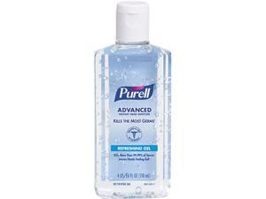 PURELL 9651-24 Instant Hand Sanitizer, 4-oz. Flip-Cap Bottle, 24/Carton