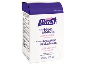 PURELL 9656-06CT Instant Hand Sanitizer Refill Bag-In-Box, 800-ml, 6/Carton