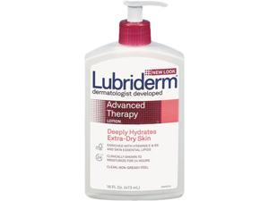 Lubriderm 48234 Advanced Therapy Moisturizing Hand/Body Lotion, 16-oz. Pump Bottle