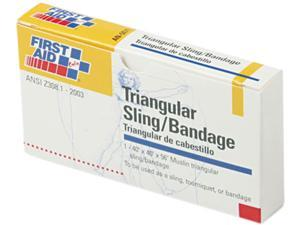 First-Aid Refill Sling/Tourniquet Triangular Bandages, 40 x 40 x 56, 10/Pack