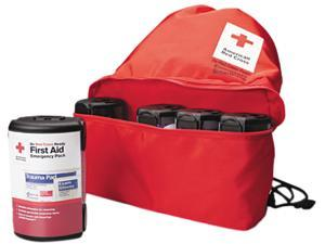 First Aid Only RC-662 American Red Cross Emergency Smartpack for One Person, Nylon Case