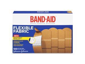 Flexible Fabric Adhesive Bandages,1 x 3, 100/Box
