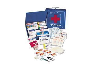 Johnson & Johnson Red Cross 8162 Industrial First Aid Kit for 50 People, 225 Pieces, White Metal Case