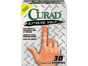 Extreme Hold Bandages, Assorted Sizes, 30/Box
