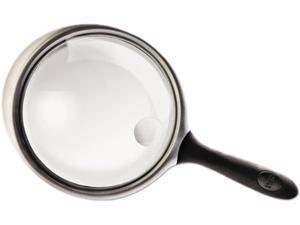 "Bausch & Lomb 813304 2X - 4X Round Handheld Magnifier w/Acrylic Lens, 4"" diameter"