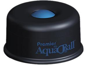 "Premier                                  AquaBall Floating Ball Envelope Moistener, 1 1/4"" x 1 1/4"" x 5 3/8"", Black, Blue"