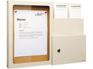 Vertiflex VF50344 Products Suggestion Box with Message Board, Putty