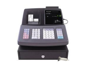 SHARP XE-A506 Cash Register, Thermal Printing, Dual Roll Register Tape, 2-line Display