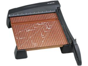 """X-ACTO 26312 Heavy-Duty Paper Trimmer, 10 Sheets, Wood Base, 12"""" x 12"""""""