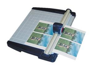 "X-ACTO 26451 Rotary Trimmer, 10 Sheets, Metal Base, 11"" x 12"""