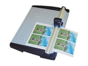 "X-ACTO Rotary Trimmer, 10 Sheets, Metal Base, 11"" x 15"""