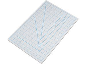 "X-ACTO X7761 Self-Healing Cutting Mat, Nonslip Bottom, 1"" Grid, 12 x 18, Gray"