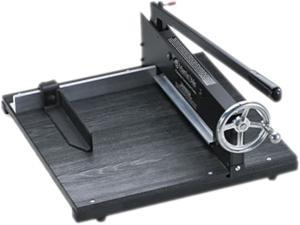 "Premier 7000E Commercial Stack Paper Cutter, 200 Sheets, Wood Base, 16"" x 20"""