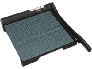 "Premier W12 The Original Green Paper Trimmer, 20 Sheets, Wood Base, 13"" x 14 1/2"""
