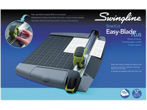 "Swingline 8912 SmartCut EasyBlade Plus Rotary Trimmer, 15 Sheets, Metal Base, 11 1/2"" x 20 1/2"""