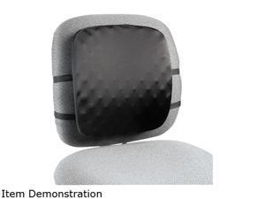 Kensington 82021 Halfback Back Support Chair Pad, 13w x 1-1/2d x 13-3/4h, Black