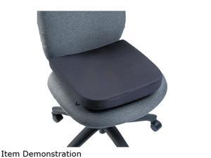 "Kensington 82024 Memory Foam Seat Rest, 14.5""D x 13.5""W x 2.0""H, Black"