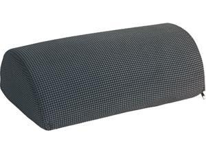 Safco 92311 Half-Cylinder Padded Foot Cushion, Black