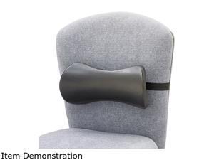Safco 7154BL Lumbar Support Memory Foam Backrest, 14-1/2w x 3-3/4d x 6-3/4h, Black