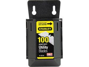 Stanley 11-921A Wall Mount Utility Knife Blade Dispenser w/Blades, 100/Pack