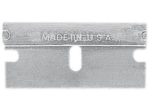 Sheffield 12854 Single Edge Safety Blades for Standard Safety Scrapers, 10/Pack