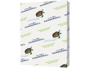 Hammermill 103341 Recycled Colored Paper, 20lb, 8-1/2 x 11, Canary, 500 Sheets/Ream