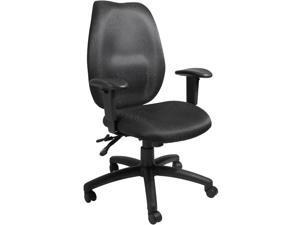 BOSS Office Products B1002-SS-BK Task Chairs