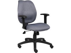 BOSS Office Products B1014-GY Task Chair
